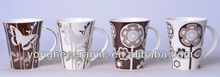 12oz cup extro style decals tea mug ceramic
