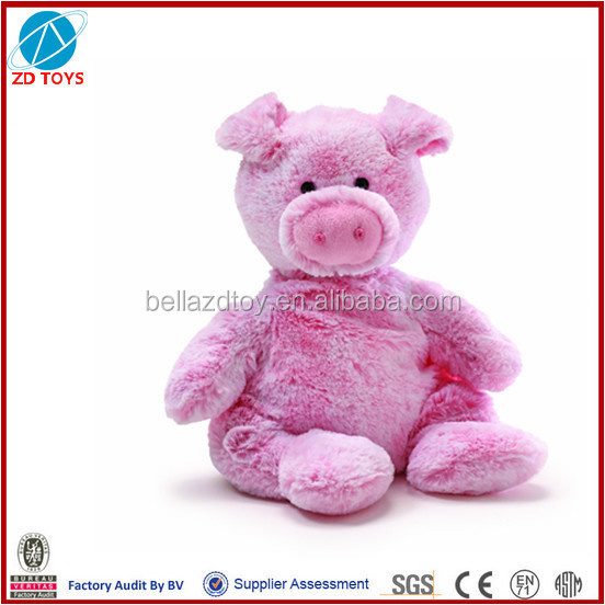 soft stuffed plush toy pig