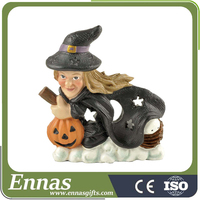 Whole Gifts Witch Halloween Crafts with tealight for decoration ideas