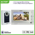 Smart Home Video Door Bell Unlock Electronic Lock Video Intercom Door Phone