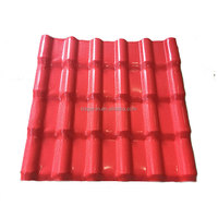 Chinese supplier cheap building materials hard ASA resin roof tile