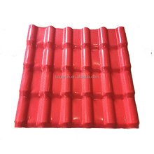 Chinese supplier hard shell top tent solar ASA resin roof tile cheap building materials