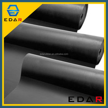 Vulcanized EDAR Black 15Mm SBR rubber Widely Used Industrial Thickness Epdm Rubber Sheet
