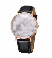 Lady fashion bracelet marble watch for DW style