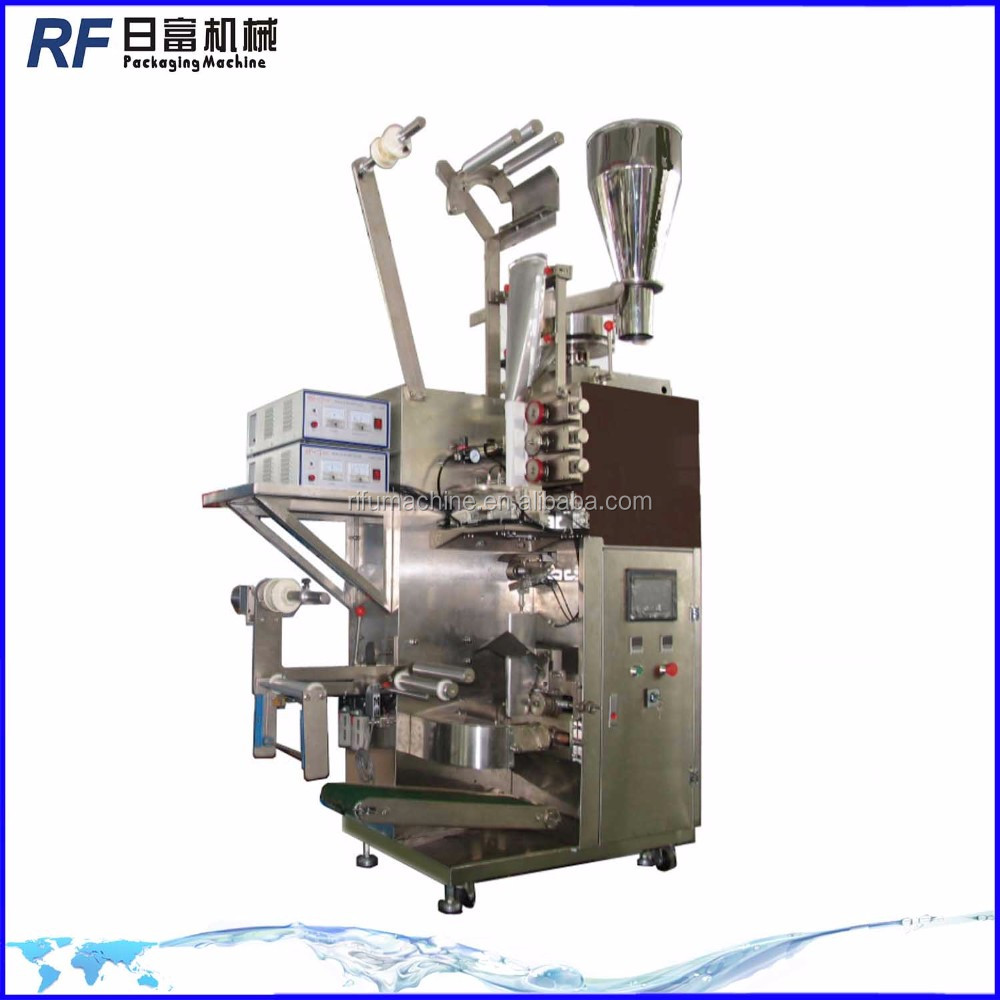 Vertical type coffee tea inner and outer bag packing machine