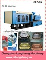 Large plastic basket making machine