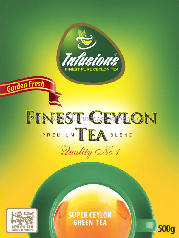 INFUSIONS PREMIUM CEYLON GREEN TEA