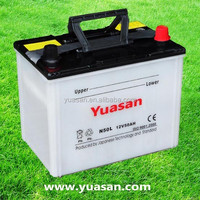 Yuasan Advanced Producing 12V50-48D26L Low Self Discharged Dry Charged Car Battery
