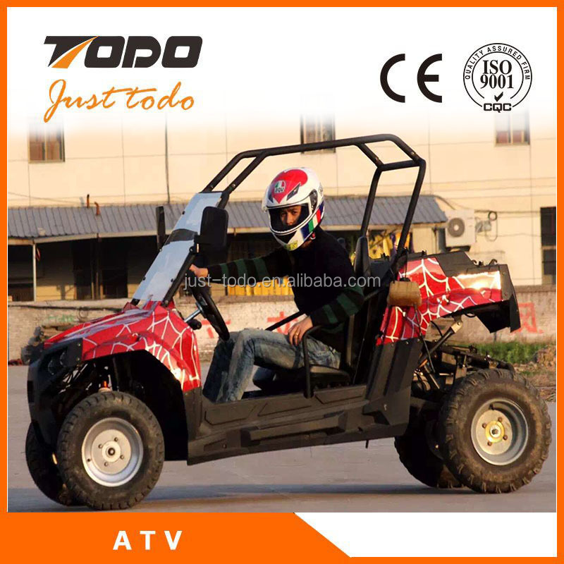 ECE EPA 250cc manual farm atv differential buggy mini jeep china utv for sale