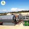 Automatic Waste Used Tire Plastic Recycling Machine Pyrolysis Plant To Oil Sold to 44 Countries