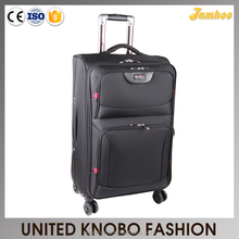 Jacquard polyester trolley case luggage set EVA soft luggage
