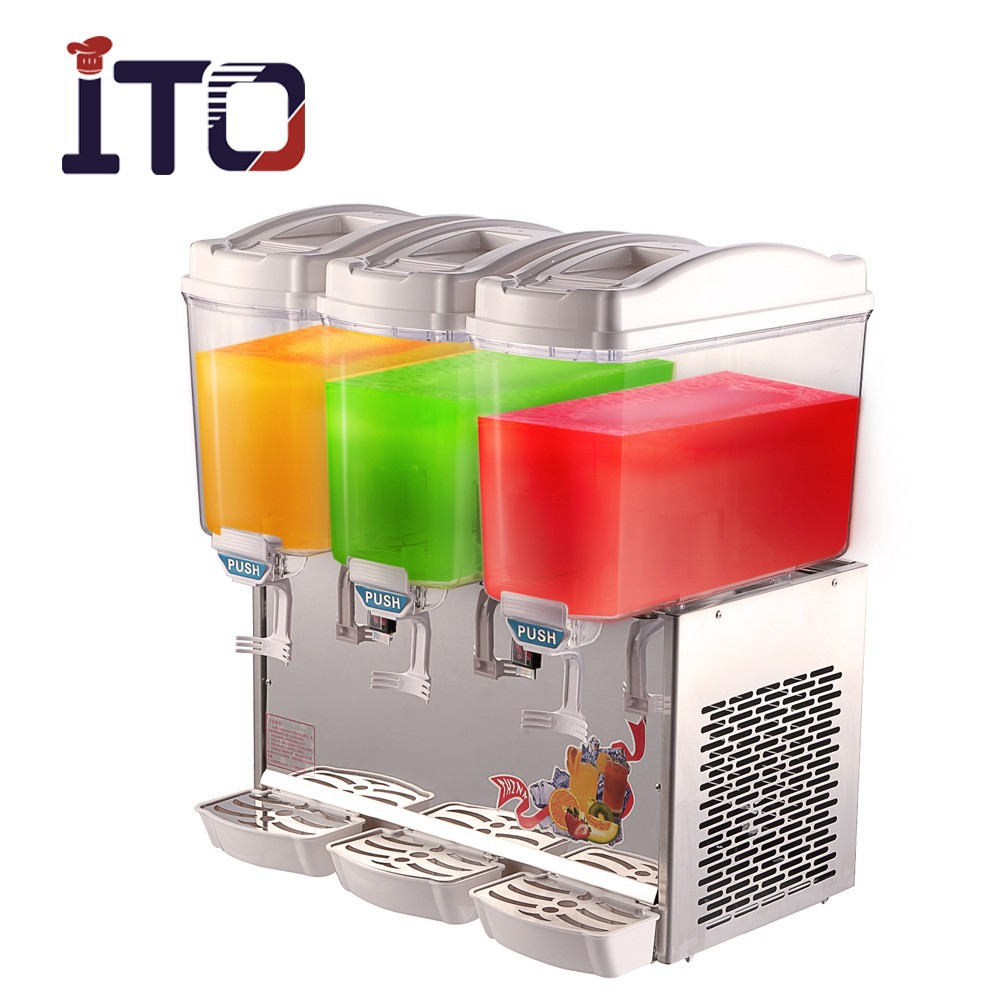 RB-351A 3 Tanks Electric Cold Fruit Juice Dispenser for Sale