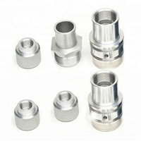 Aluminium machined parts cnc turned components