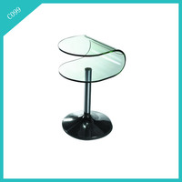 coffee table fish tank glass coffee table tree roots furniture C099