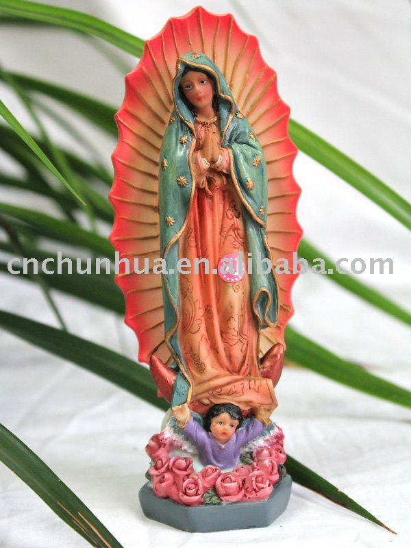 Hot-selling Polyresin Virgin Mary Religion Crafts