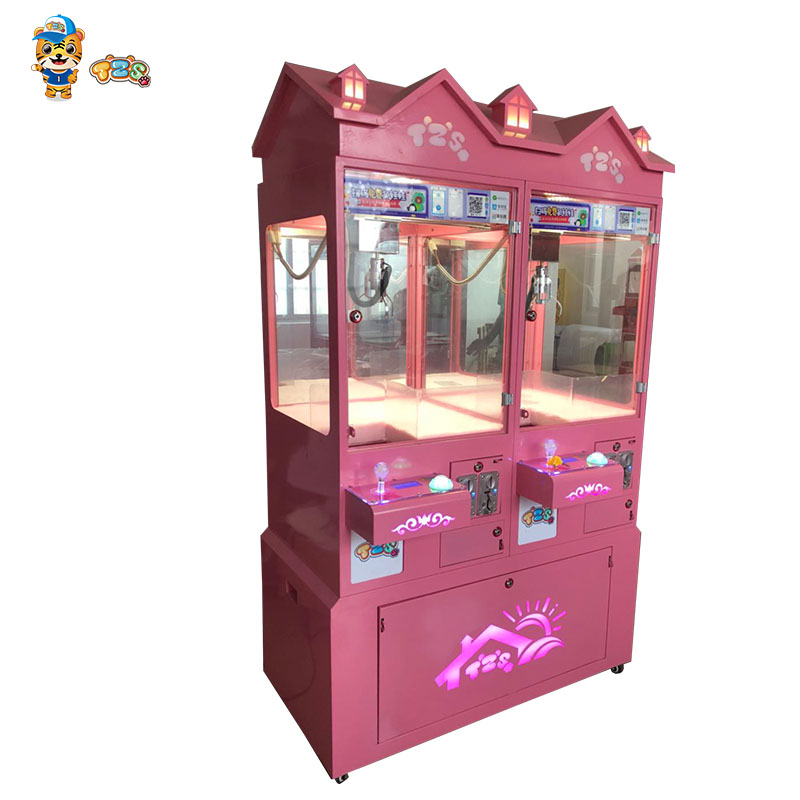 Automatic toy claw crane machine, game machine doll claw crane machine for sale