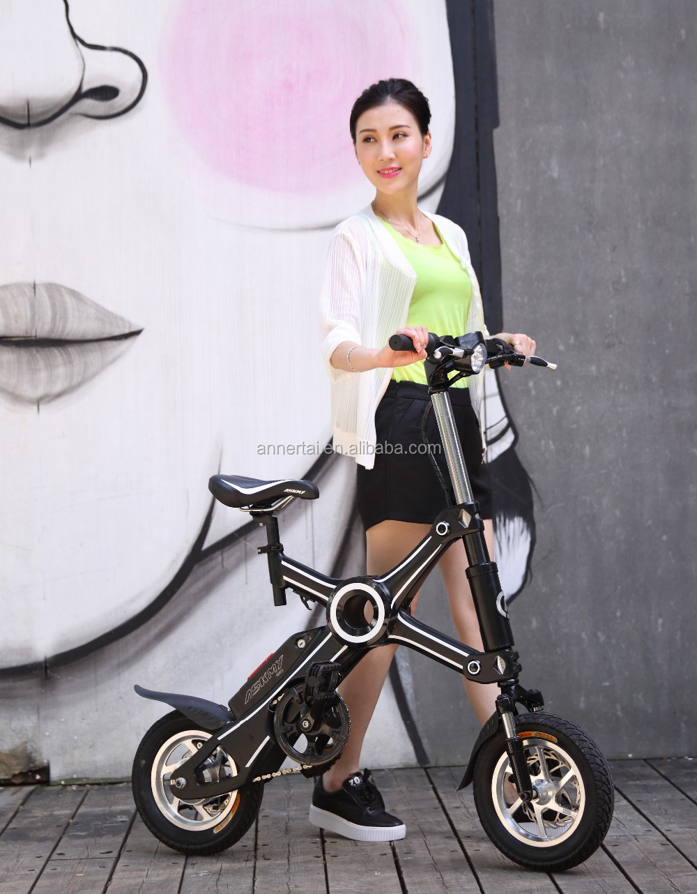 New products 2016 ASKMY X3 high speed mini folding electric pocket bikes cheap for sale