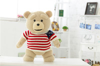 Soft Plush Teddy In T-shirt Electronic Toys