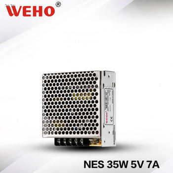WEHO NES 35W single output power supply high quality 5v 7a led smps circuit