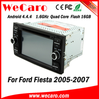 Wecaro WC-FU7016 Android 4.4.4 1080p lcd screen car dvd for ford fiesta 2005 2006 2007 OBD2