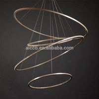 Aicco Modern Circle Indoor Decorative Big