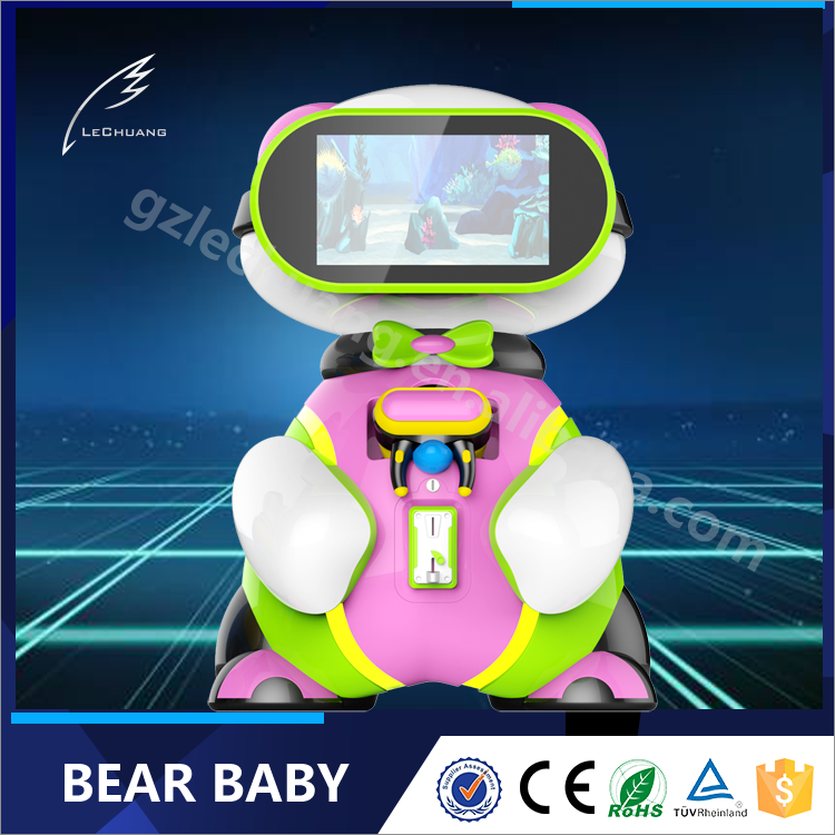 2017 Dubai DEAL show arcade games machines virtual reality toys children vr machines