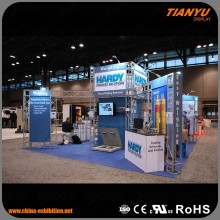 Factory Supply spigot trade show mini truss display for exhibition