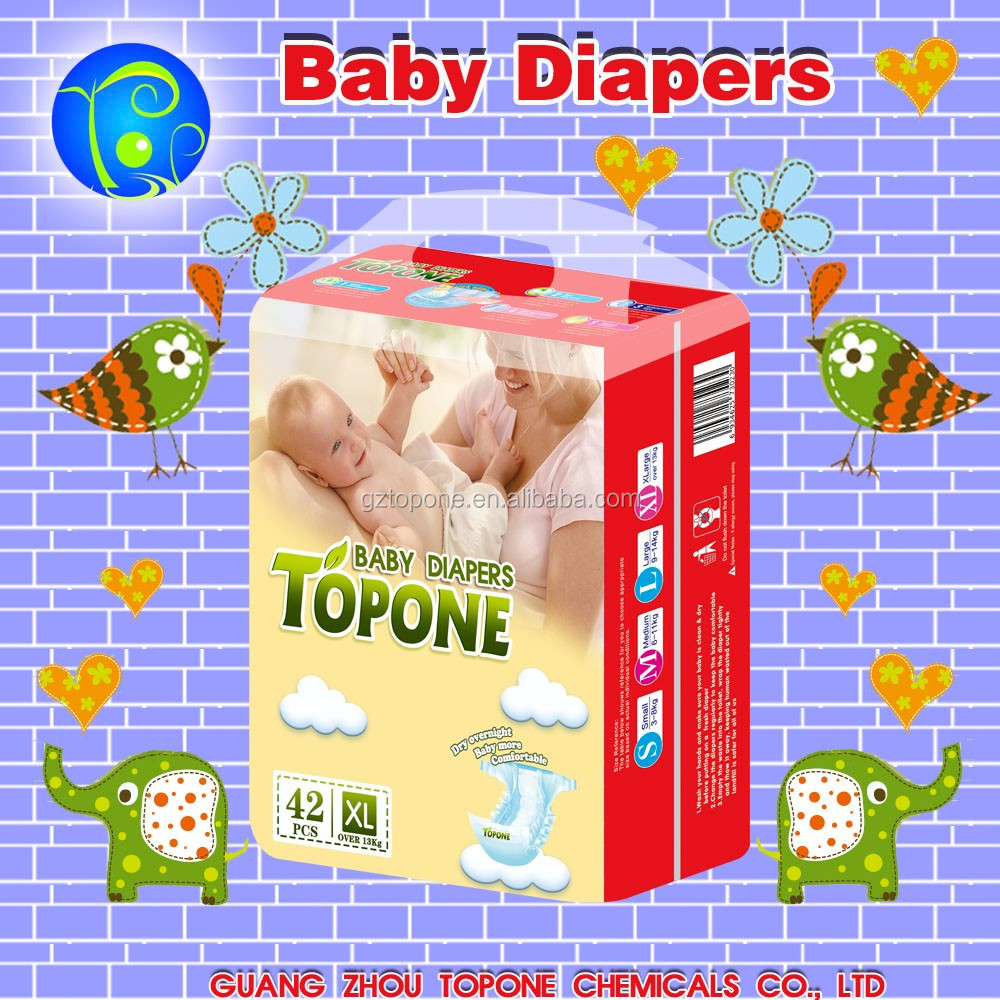 2017 Sophisticated Design and Confirm Efficiency & Quality Wholesale Baby Diapers Latest Products in Market