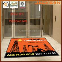 Cash Flow Gold Advertising Rubber Mats