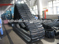 Truck rubber track,rubber track for excavator/trucks/agricultural/harvester/snow blower,485 X 92