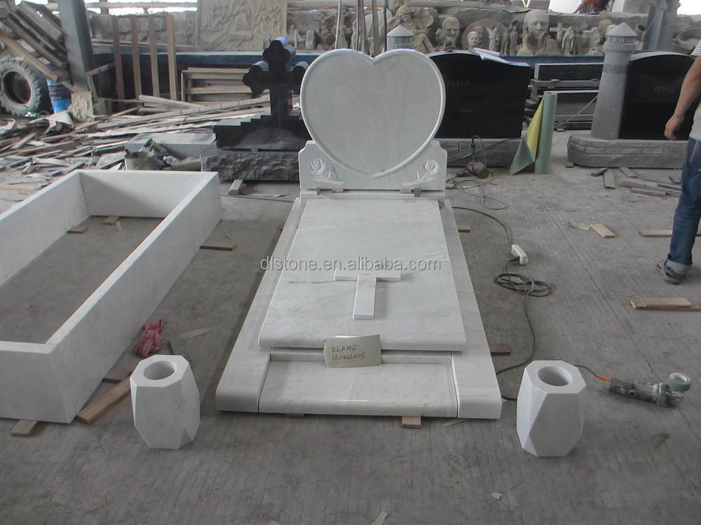 China Wholesale White Marble Headstones Prices Buy