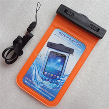 Orange Touch Waterproof Armband Pouch Dry Bag Case For Samsung Galaxy Note3 III N9000