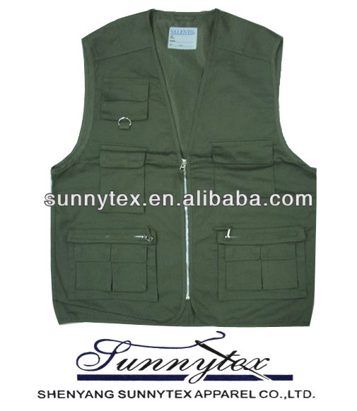 BEST SELLING MULTIPOCKET FISHING VEST
