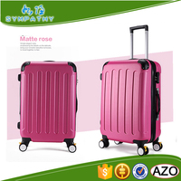Strong Car wheels 3pcs set trolley luggage ABS trolley luggage set