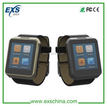 compatible with 99% mobile phone to sync SMS, phone book wholesale led touch screen watch with usb
