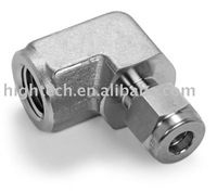 stainless steel female elbow ,gaugeable tube fittings ,adapter fittings