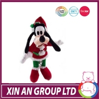 CE certificated plush stuffed animal wholesale popular christmas christmas singing toys