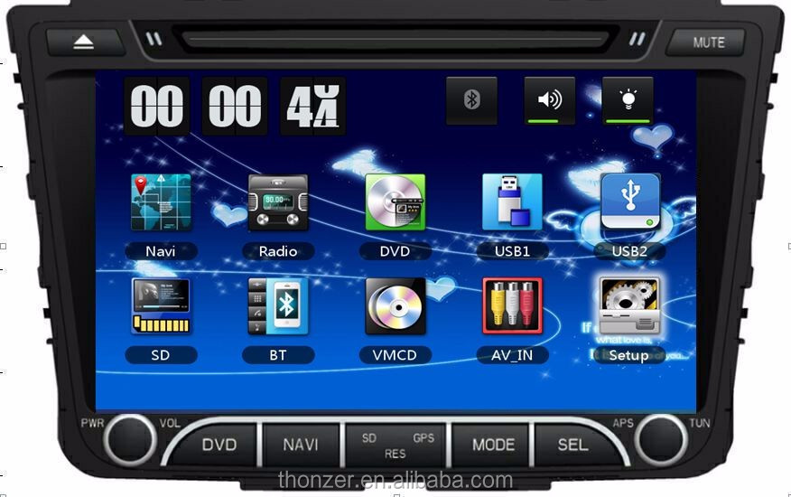 2015 Hyundai Tucson/ IX25 Car DVD with GPS Support 3G
