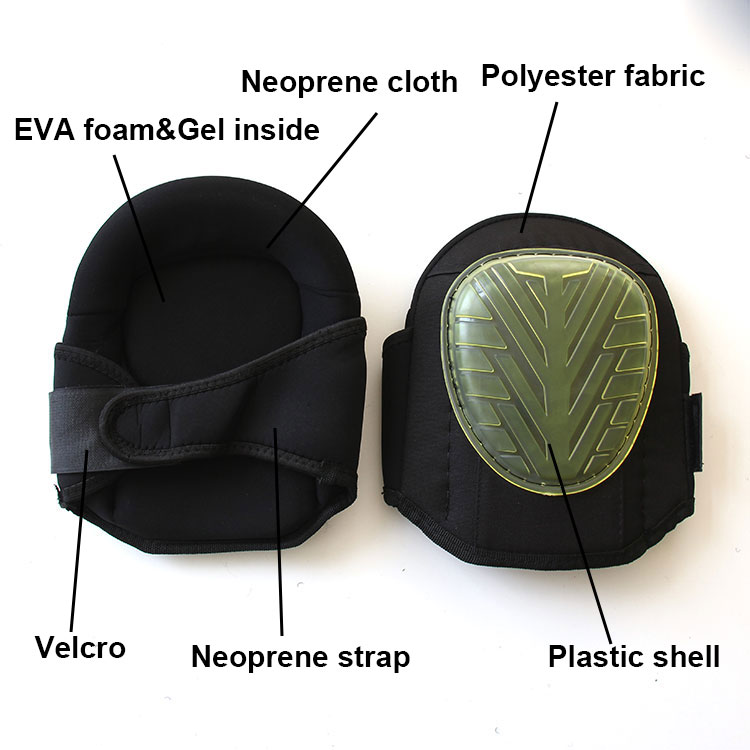 CE Standard Neoprene Waterproof Construction Professional Knee Pads for Work