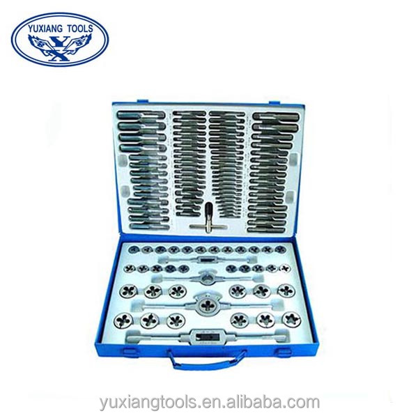 Jiangsu Danyang 110pcs set taps and dies threaded tools