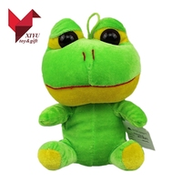 Hot selling cute big eyed stuffed frog plush toy
