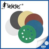 5 inch sanding disc hoop and loop fastener sanding paper coated abrasive