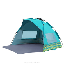 Huge Potable Blue Huge heated Camping Shelter Beach Tent For 3 to 4 Person