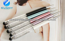 new fashion best selling crystal bling stylus pen