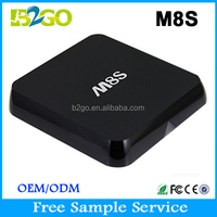 11.11 FREE SHIPPING B2GO Factory Directly Supply M8s tv box Kodi fully loaded quad core android ott tv box