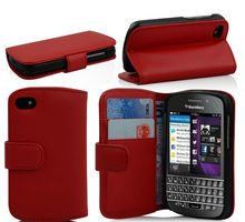 Card Slots Wallet Case for BlackBerry Q10, Flip Leather Case Cover for BlackBerry Q10