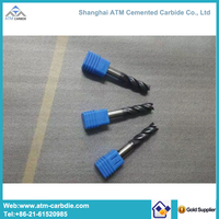 Hot sale standard tungsten carbide end mill for milling cutter