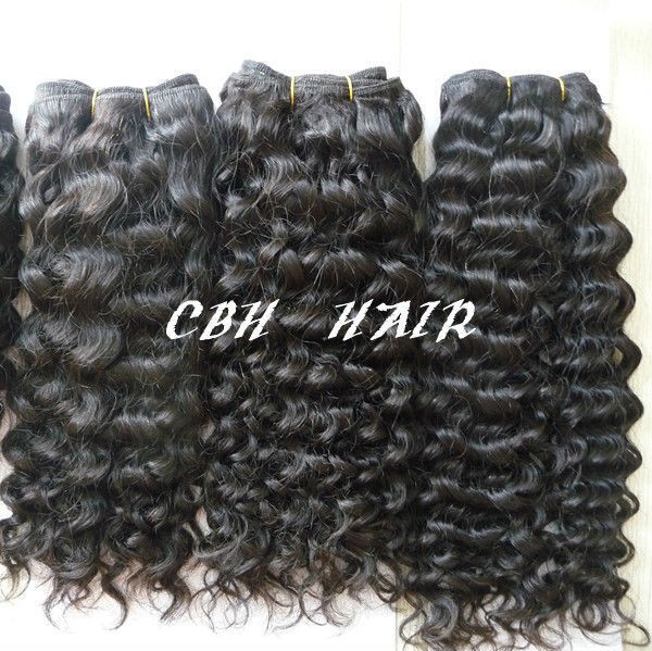 Manufacturer Cambodian natural wave hair Weaving