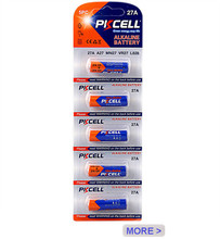 2017 Hot Sale PKCELL 12v a27 27a alkaline battery l828 for Smoke Alarms