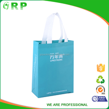 Environment friendly cheap laminated printing bag non woven tote shopping bag